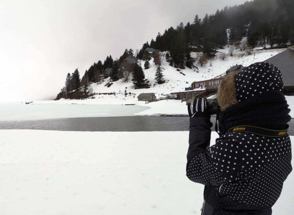 Payolle-Montagne-Lac gelé